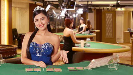 Live Baccarat im Asia Gaming Live Casino.