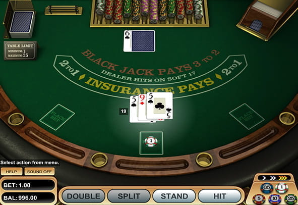 Blackjack Gratis Spielen