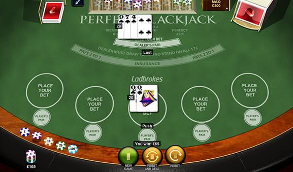 Online Blackjack Perfect Pairs Echtgeld