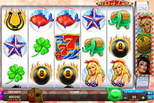 Der Slot Kiss of Luck im Blitzino Casino.