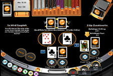 21 Duel Blackjack in der Multihand-Variante