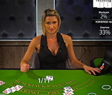 Live Blackjack bei Casino Cruise