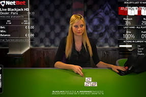 Common Draw Blackjack bei NetBet