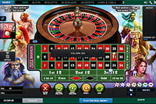 Age of the Gods Jackpot Roulette von Playtech