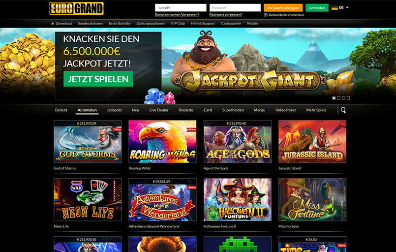 euro casino online online spiele deutschland