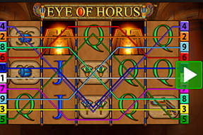 Merkur Klassiker Eye of Horus als Touch Version in der App