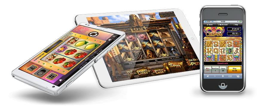 Slots und Spielautomaten auf mobilen Geräten