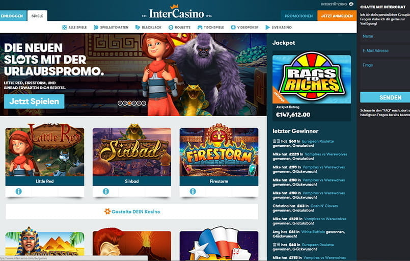 start online casino spiele online deutsch