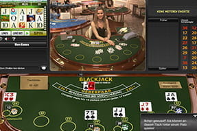 Unlimited blackjack game