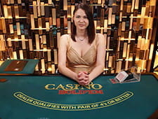 Casino Hold'em im Casino Cruise Live-Bereich