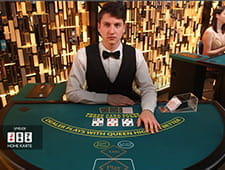 Three Card Poker im Live-Bereich von Casino Cruise