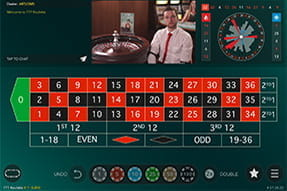 Lucky 7's Live Roulette von Evolution Gaming