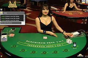 High Blackjack des Ruby Live Casinos von Xpro