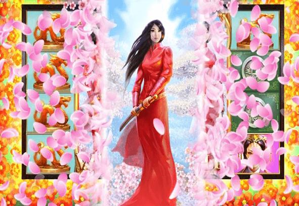 Der Sakura Fortune Slot als Demo.