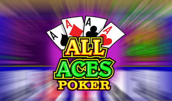 Das Logo des online Spiels All Aces Poker.