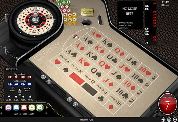 Spiele Common Draw Roulette - Video Slots Online