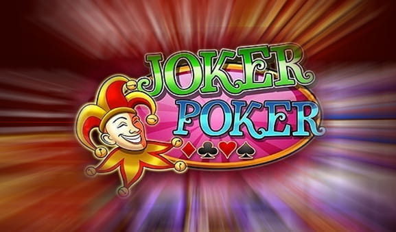 Das Logo des Joker Poker online Video Poker Spiels, von Play'n GO.