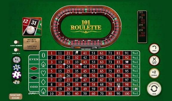 Quad double single roulette