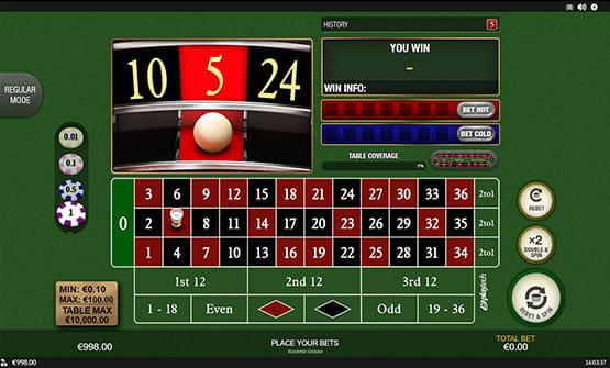 Online Casino Roulette Echtgeld