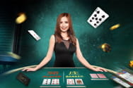 Dealerin im SA Gaming Live Casino.