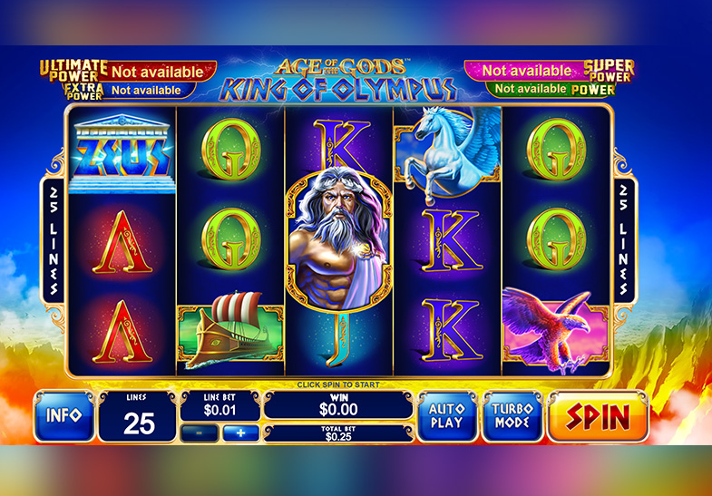 Age of the Gods King of Olympus Slot by Playtech