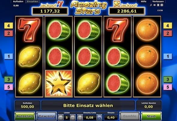 slots online casinos stars spiele
