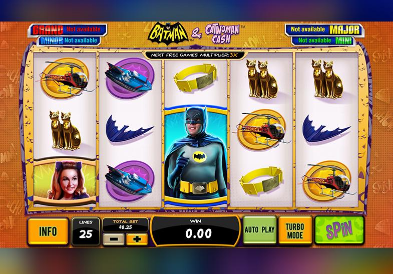 Batman & Catwoman Cash Slot von Playtech