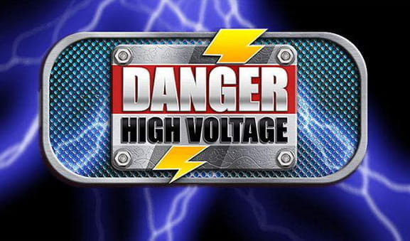 Ein Screenshot des Danger High Voltage Slots von Big Time Gaming.