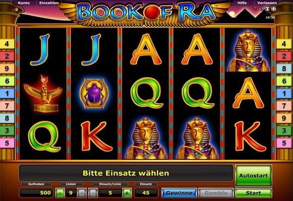 book of ra mit geld spielen