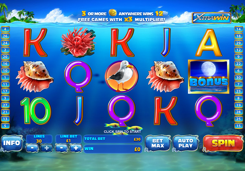 Dolphin Cash Slot by Playtech