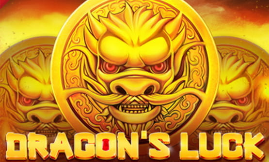 Das Logo des Slots Dragon's Luck.