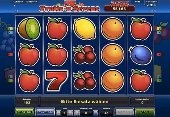 online casino games spiele fruits