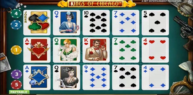 Kings of Chicago Bester NetEnt RTP Slot Online