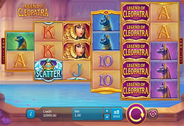 Spielen Sie Legend of Cleopatra kostenlos im Demo Mode von Playson