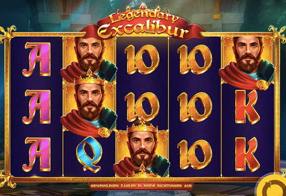 Spiele Legendary Excalibur - Video Slots Online