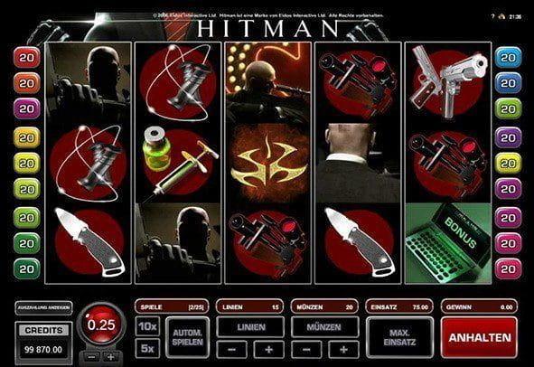 Spiele Hitman - Video Slots Online