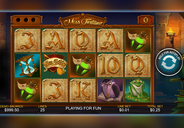 Miss Fortune Slot von Playtech