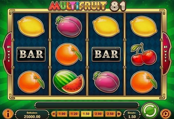 Spiele MultiFruit 81 - Video Slots Online