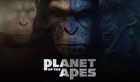 Das Titelbild des Slots Planet of the Apes von NetEnt.