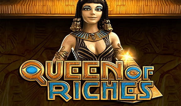 Das Logo des Queen of Riches Slots von Big Time Gaming.