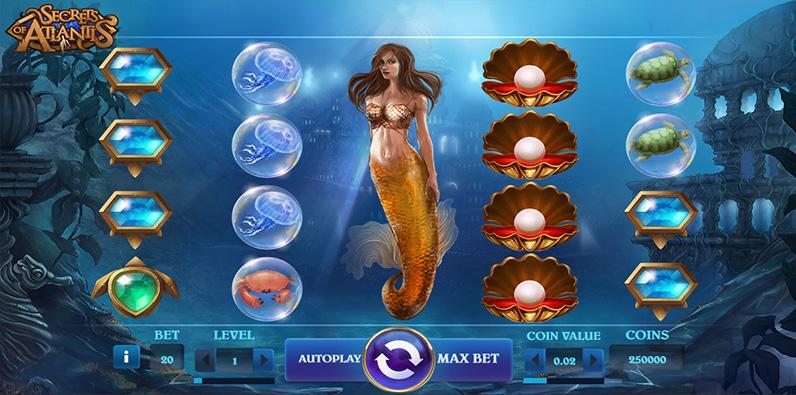 Rahasia Atlantis Best NetEnt RTP Slot Online