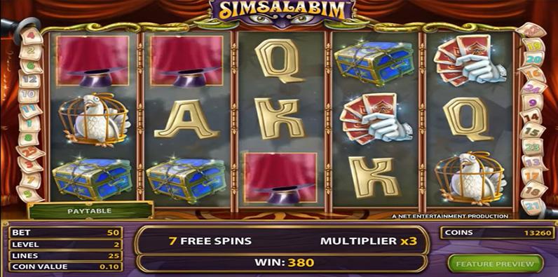 Simsalabim Bester NetEnt RTP Slot Online