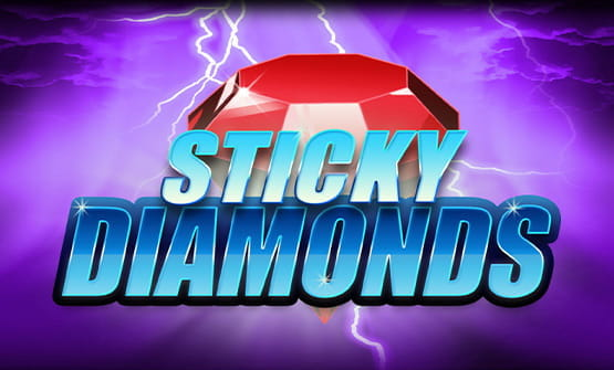 Der online Slot Sticky Diamonds.