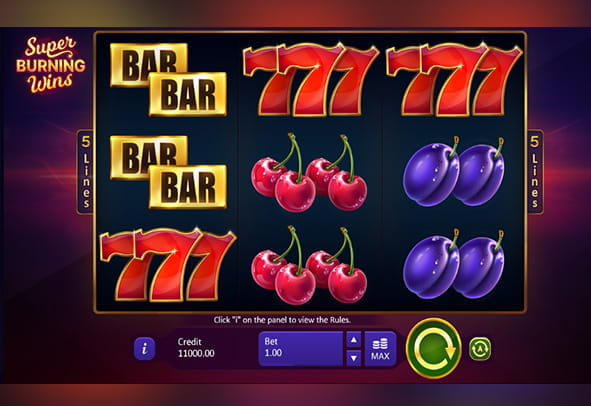 Spiele Super Burning Wins: ClaГџic 5 Lines - Video Slots Online