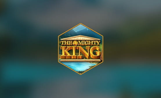 Das Logo des The Mighty King Slots