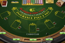 Super 7 BlackJack bei Casino Club spielen
