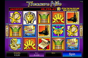 Der Progressive Spielautomat Treasure Nile