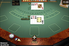 Vegas Strip Blackjack von Microgaming beim Casino Room