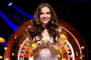 Dealerin im Vivo Gaming Live Casino.