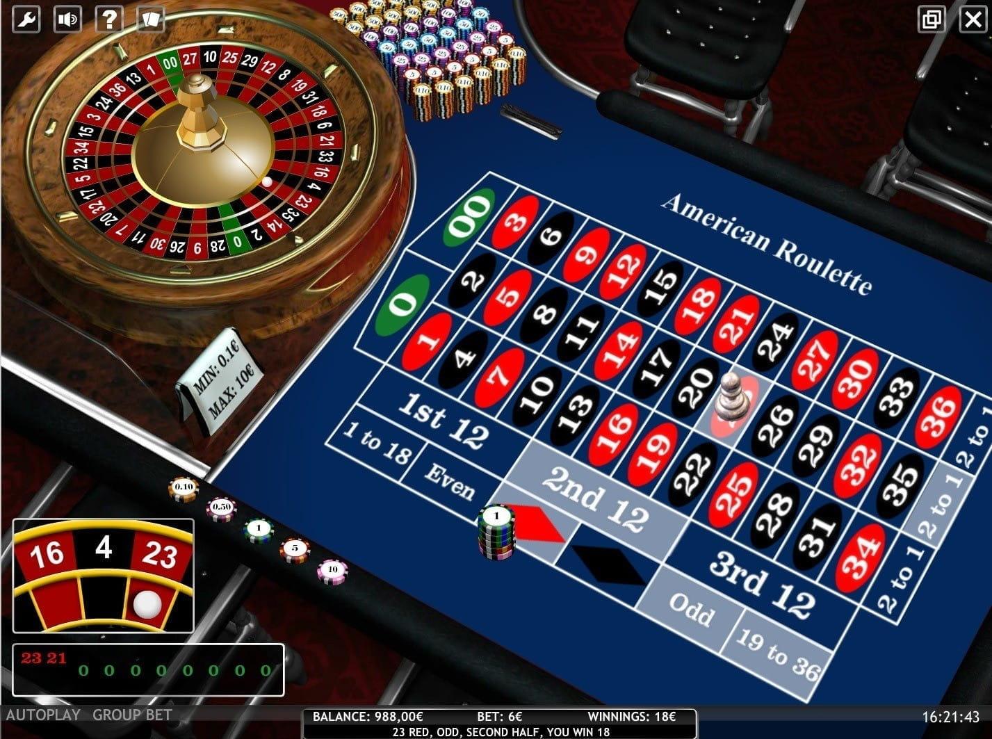 Casino nrw roulette